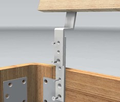 HASENA HEAD-PLUS EXTENSION BRACKETS FOR HEADBOARD
